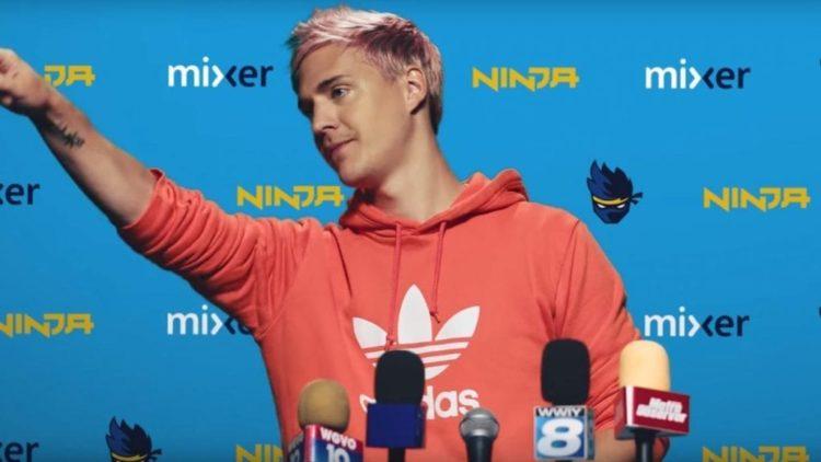 Ninja Mixer twitch microsoft facebook gaming