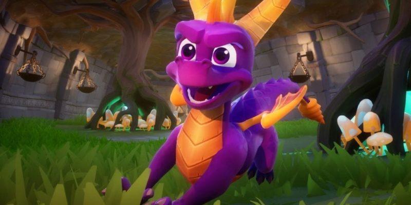 Spyro Header Remaster
