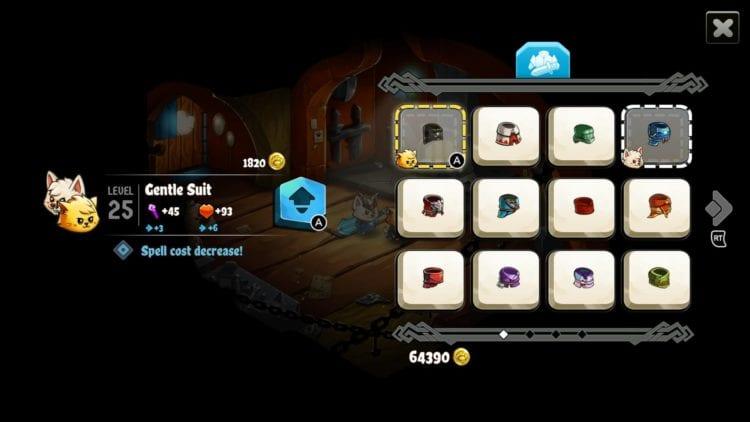 Cat Quest 2 Loot Items Upgrades Magic Spells Guide Kit Cat Armors