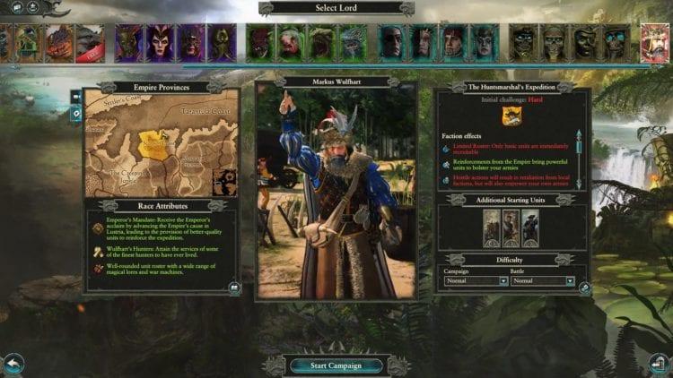 ⋆ Total War: Warhammer 2 - Markus Wulfhart Campaign Guide