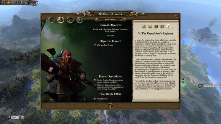 Legendary Hunters Guide Wulfhart Campaign Vermintide Ubersreik Total War Warhammer 2 The Huntsman And The Beast Dlc Dwarf