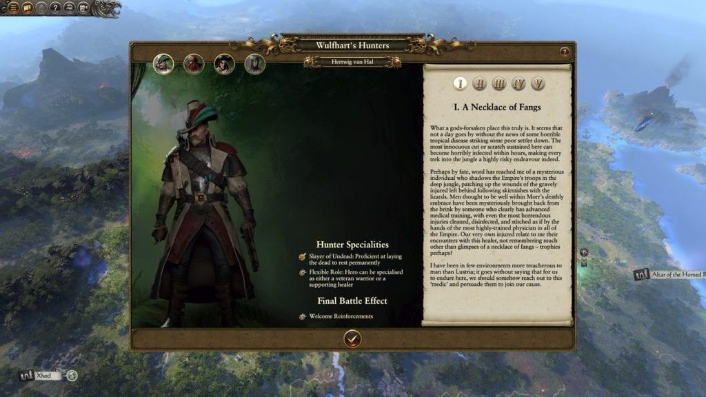 Total War Warhammer 2 Wulfhart S Legendary Hunters Guide