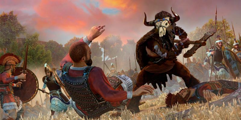 Total War Saga Troy free launch epic games store