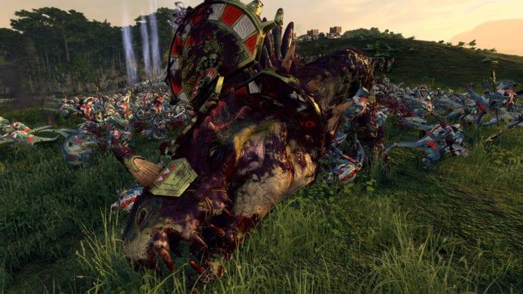 Total War Warhammer 2 Hunter And The Beast Dlc Markus Wulfhart Campaign Guide Lizardmen Dread Saurian Dead
