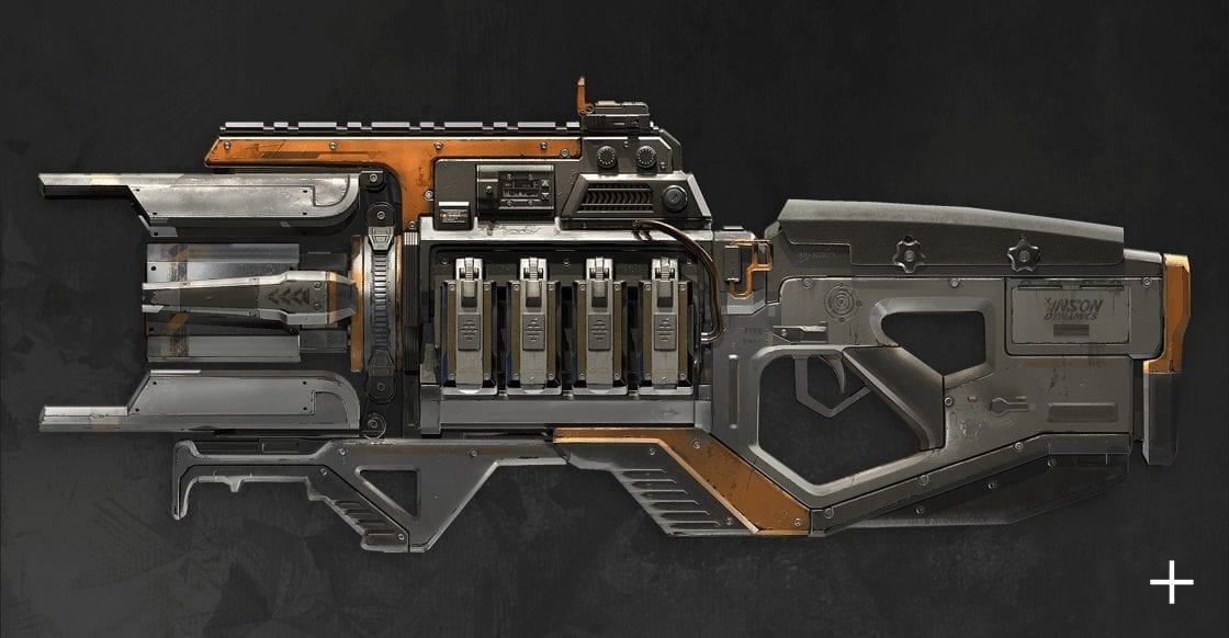 Apex Embed Season 3 Charge Rifle