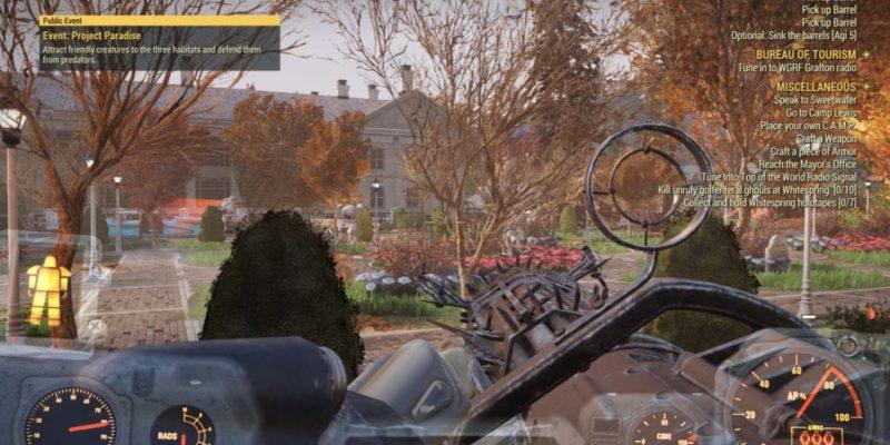 Fallout 76 Public Events Feat