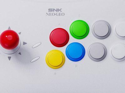 SNK Neo Geo Arcade Stick Pro