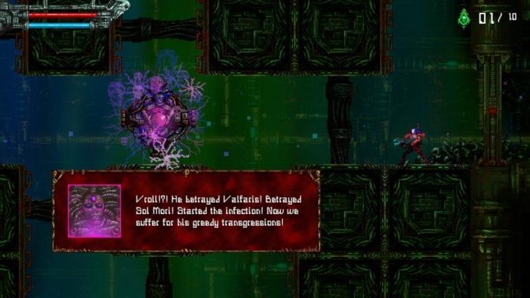 valfaris boss dialogue