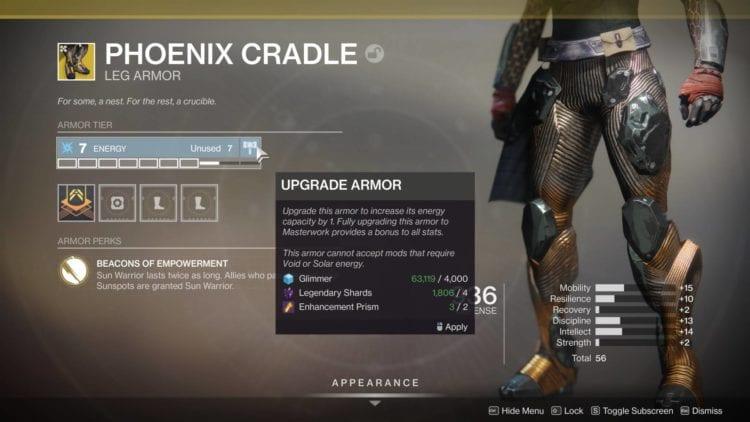 Armor 2.0 Exotic