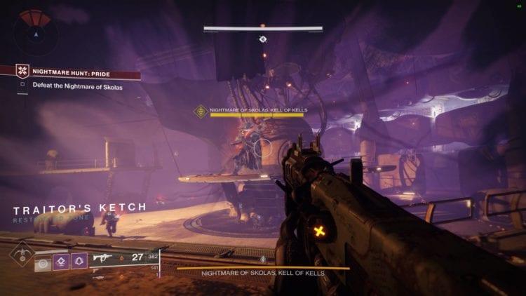 Destiny 2 Shadowkeep Pc Review Nightmare Hunt Skolas