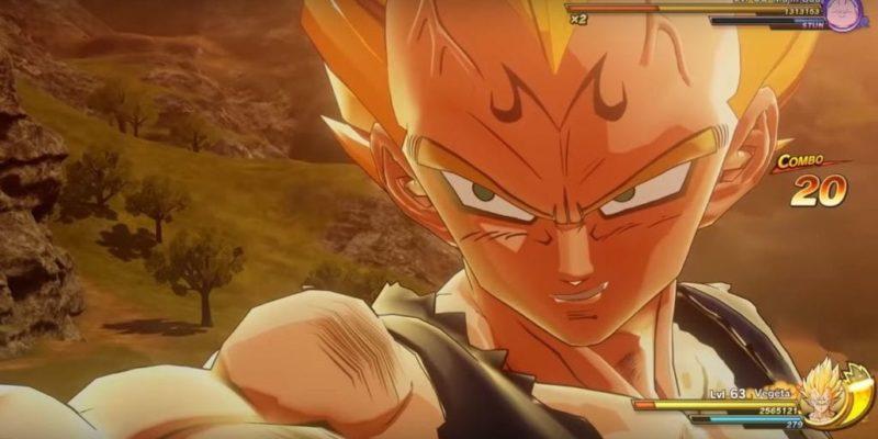 Dragon Ball Z Kakarot Vegeta Gameplay Trailer Big Bang Attack