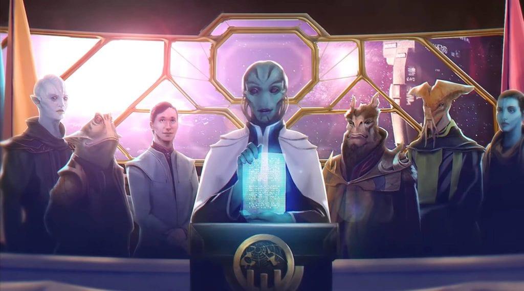 Stellaris Federations Expansion Lithoids Species Pack Announcement