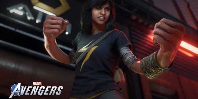 Marvels Avengers Ms Marvel Kamala Fists Embiggen