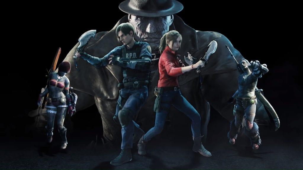 Monster Hunter World Iceborne Resident Evil Leon S. Kennedy Claire Redfield