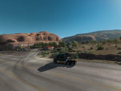 American Truck Simulator - Open beta 1.37 impressions Utah Hole In The Rock