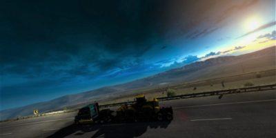 American Truck Simulator Utah Sunrise Canyon V1