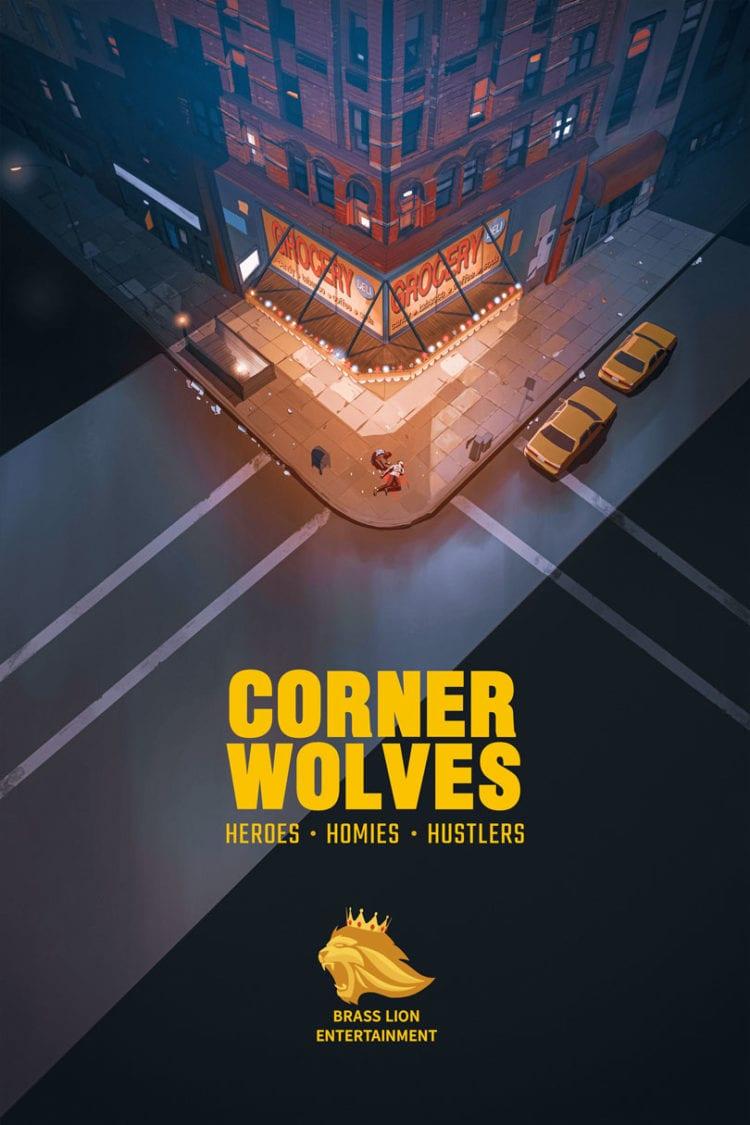 Brass Lion Entertainment Corner Wolves Poster