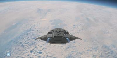 Citizencon 2019 Icy Planet Microtech star citizen cloud imperium