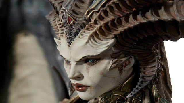 Diablo IV Lilith statue