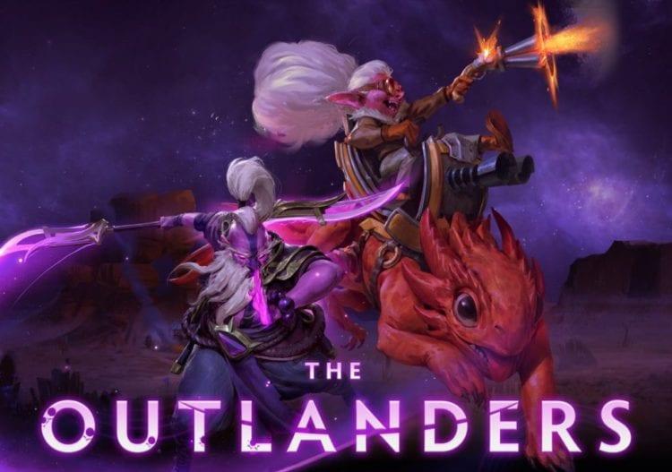 Dota Underlords Outlanders Update Snapfire Void Spirit