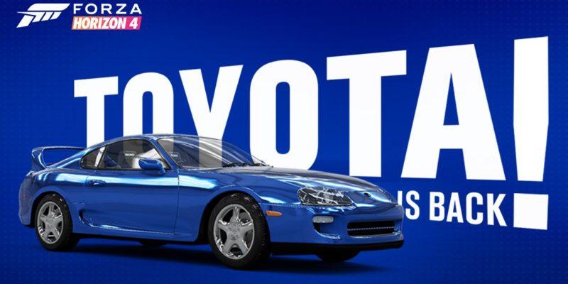 Forza Horizon 4 Toyota Returns