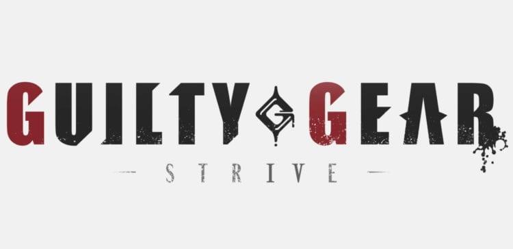 Guilty Gear Strive Trailer Logo