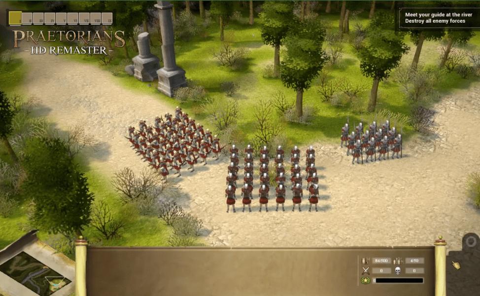 Praetorians HD Remasterd