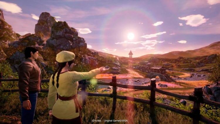 Shenmue 3 Launch Trailer Village