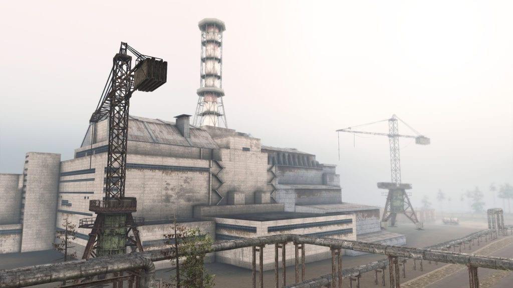 Spintires Chernobyl Power Plant