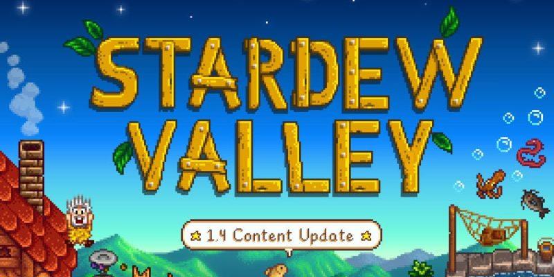 Stardew Valley 1.4 update release date November 26
