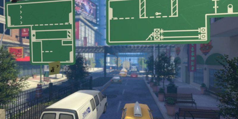 The Pedestrian Teaser 2d 3d Gameplay Puzzler