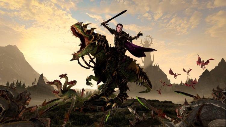 The Shadow & The Blade Dlc Total War Warhammer Ii Total War Warhammer 2 Malus Darkblade