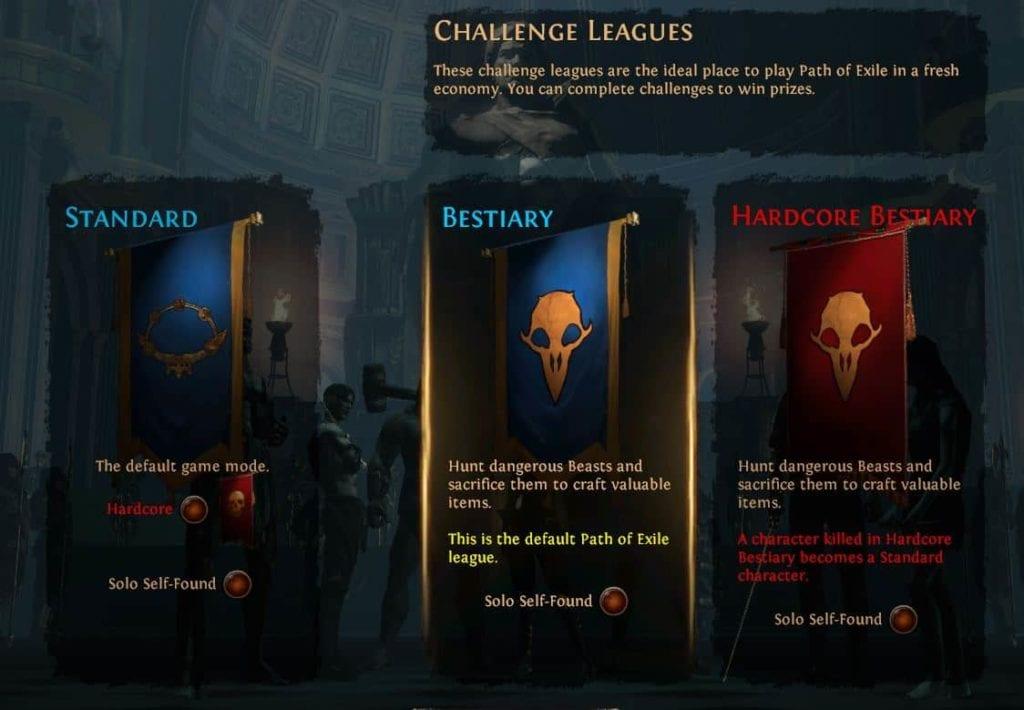 Bestiary League Poe