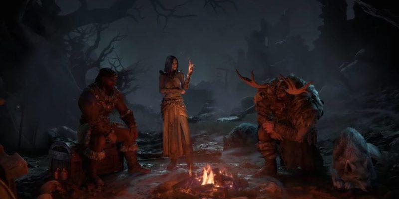 Diablo 4 Blizzcon Gameplay Trailer Classes Breaking Down Druid Sorceress Barbarian