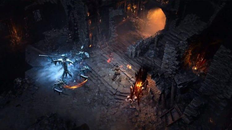 Diablo 4 Blizzcon Gameplay Trailer Sorceress