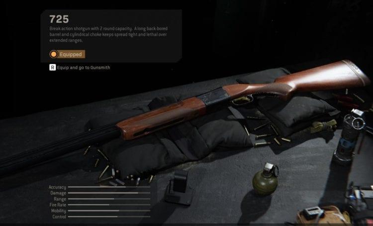 Modern Warfare 725 nerf hotfix aug