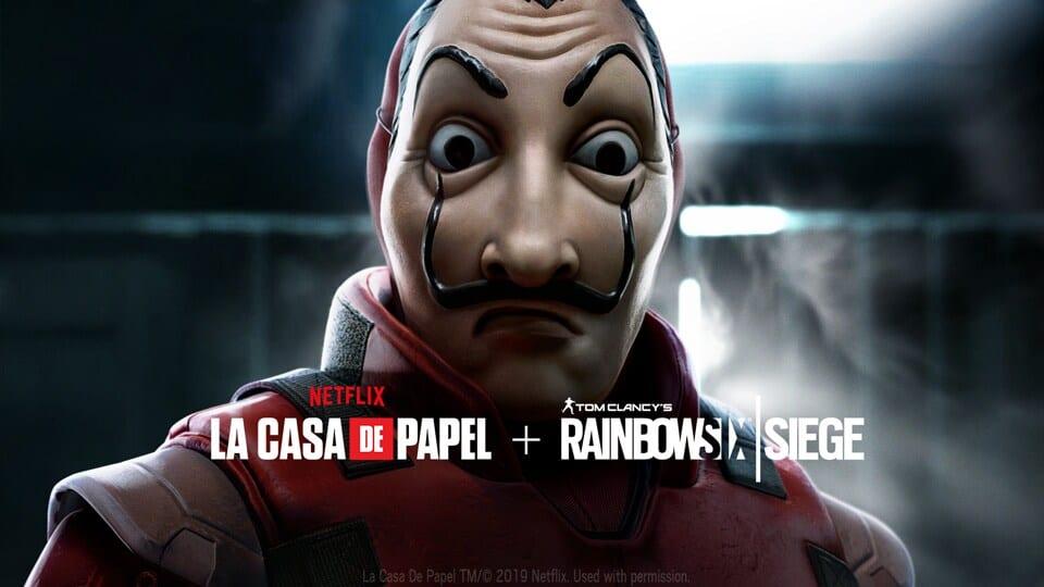 Rainbow Six Siege: Money Heist Netflix La casa de papel