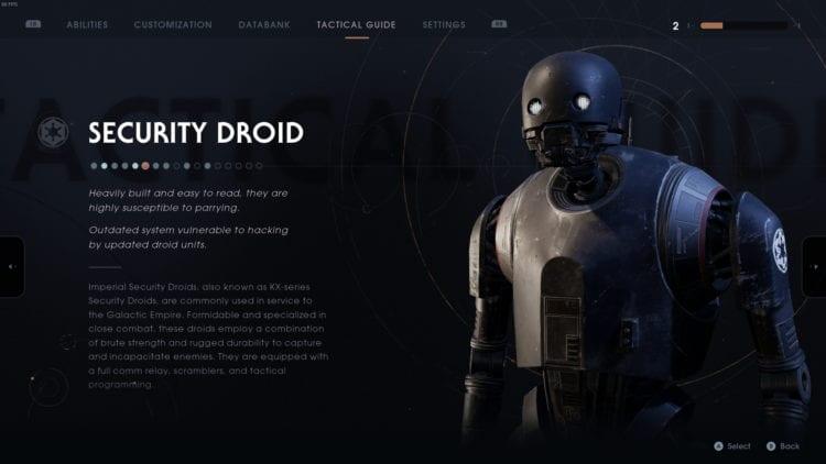 Star Wars Fallen Order Boss Fight Guide Security Droid