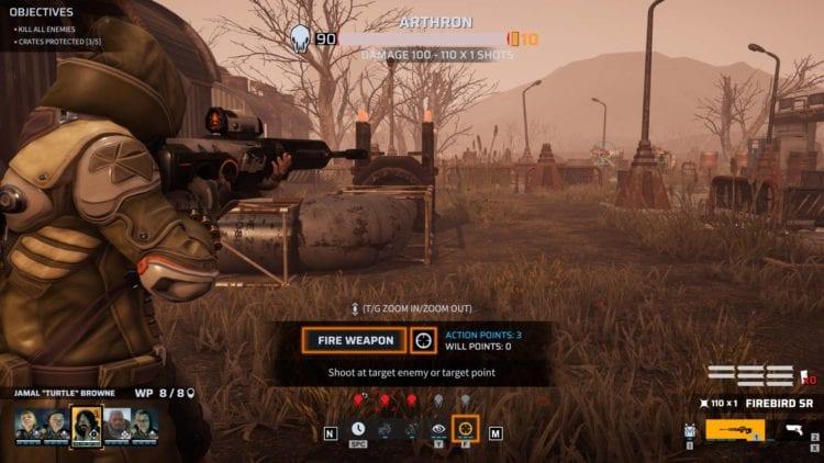 Sniper shot mission