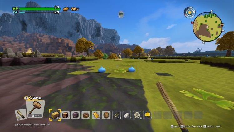 Dragon Quest Builders 2 review PC Steam Square Enix
