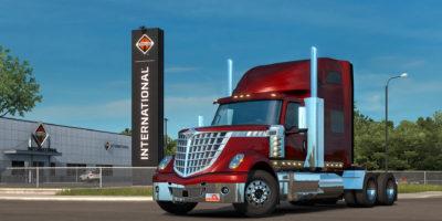 American Truck Simulator International Lonestar Dealer