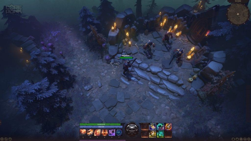 Corepunk MMORPG beta Artificial Core Fog of War