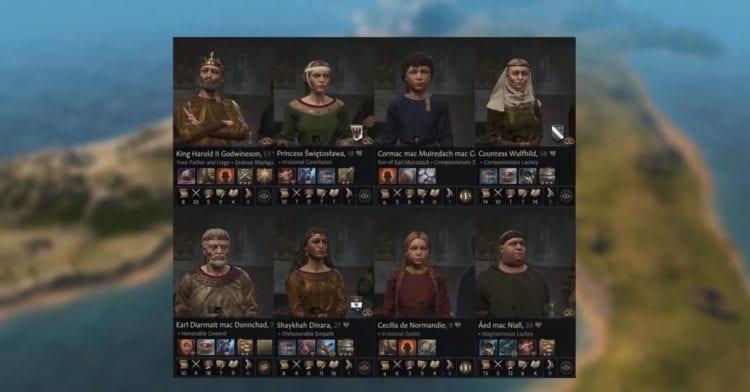 Crusader Kings 3 - Crusader Kings III - CK3 - Dev Diary Schemes, Supporting Characters, Character Traits, Portraits Clothing