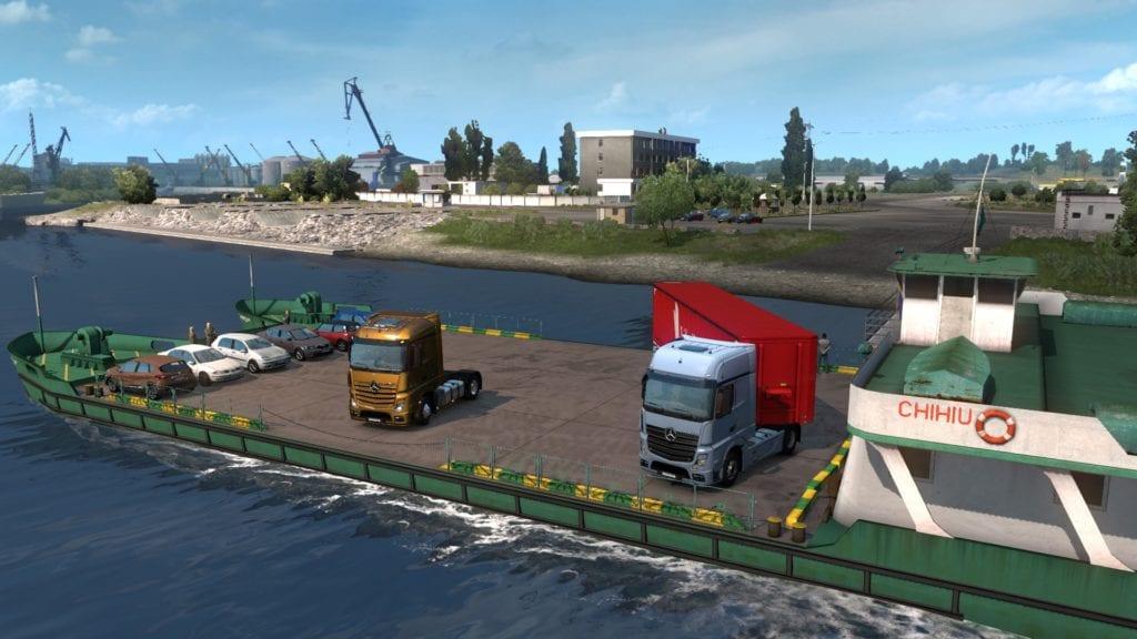 ETS2 Romania River Ferry