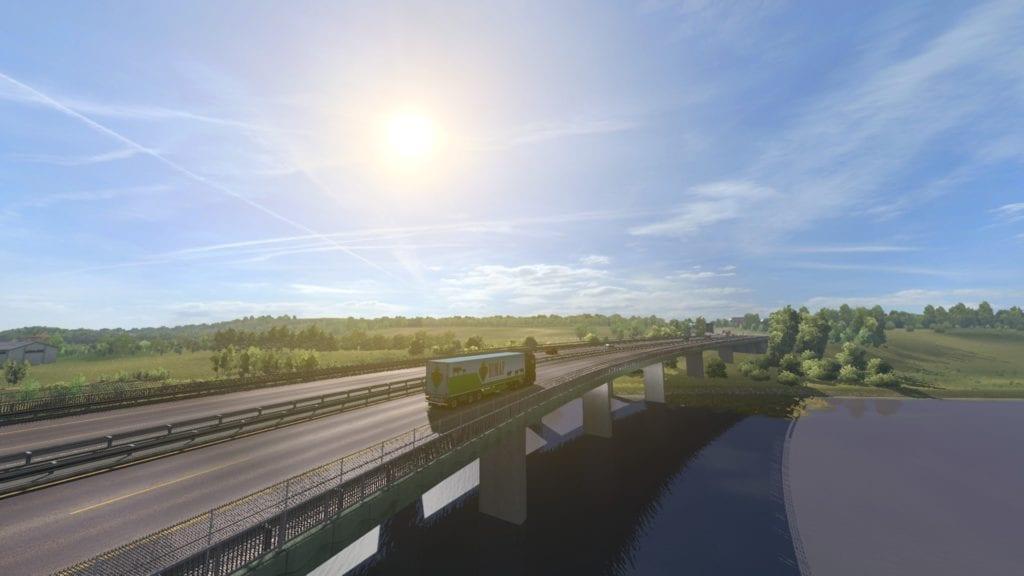 Road to the Black Sea Turkey Bridge
