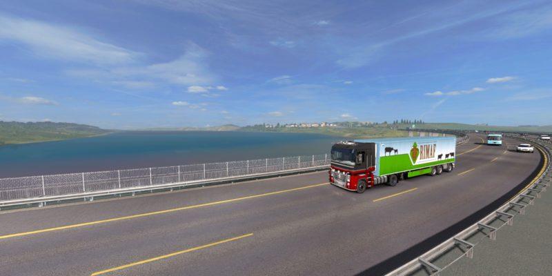 Euro Truck Simulator 2 Turkish Black Sea