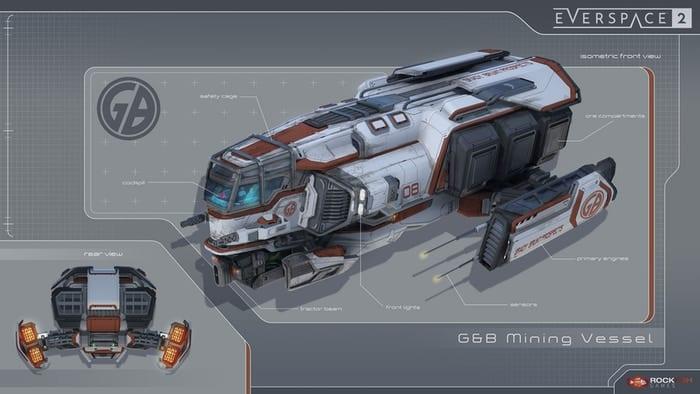 Everspace 2 Concept Art