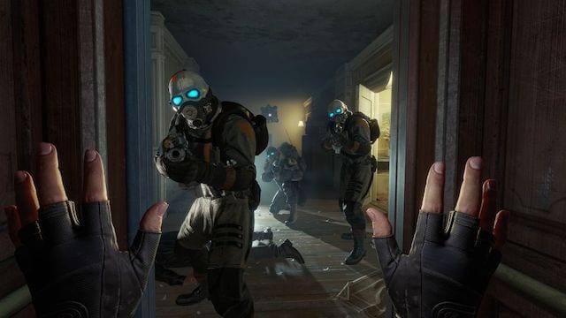 Half-Life: Alyx playtest video