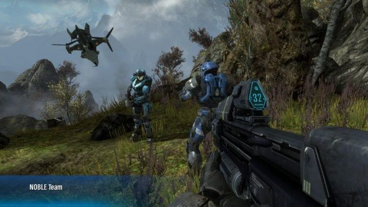 Halo Reach Pc Technical Review Graphics Comparison 2 Enhanced 1080p