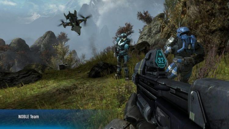 Halo Reach Pc Technical Review Graphics Comparison 2 Enhanced High